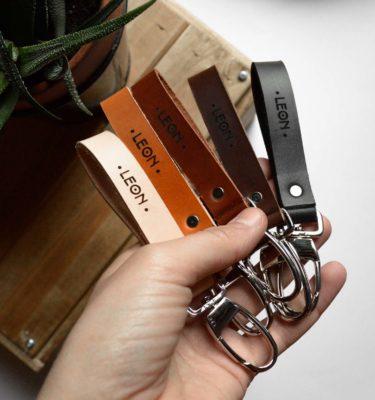 LEON - Porte clé personnalisé