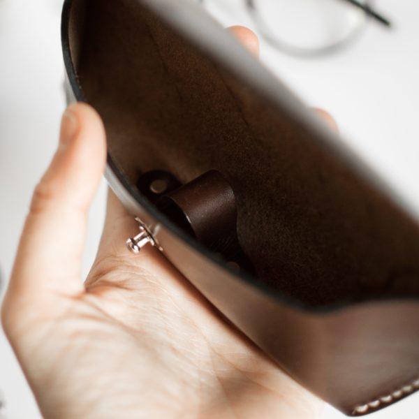 Etui à lunettes Chocolat