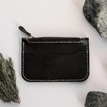 BASILE-porte-monnaie en cuir