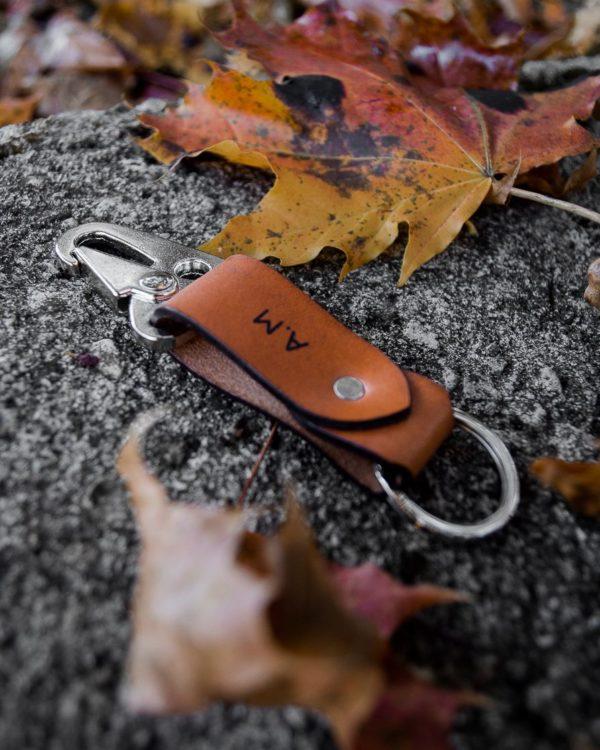 MAX - Porte-clé en cuir