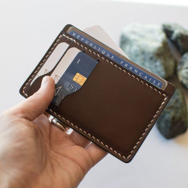 MARCEL- porte carte en cuir