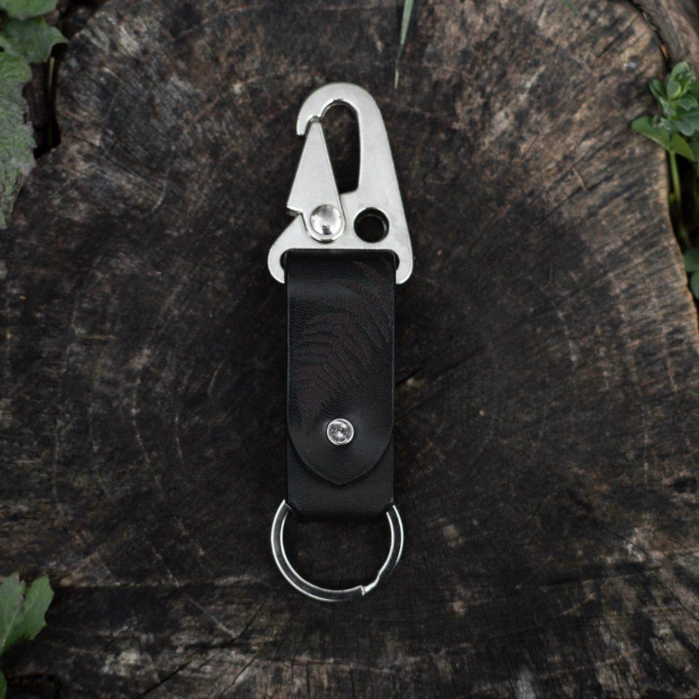 MAX - Porte clé en cuir - Fougère - NEPTUUN