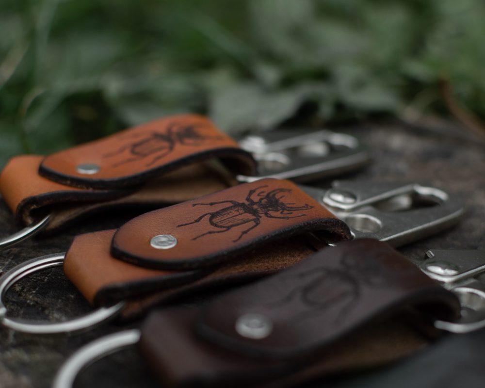 MAX - Porte clé en cuir - Lucane - NEPTUUN